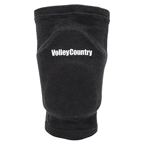 VolleyCountry Volleyball Knee Pads (Black, X-Large)
