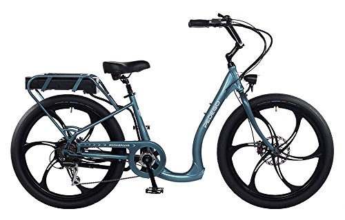Pedego Boomerang Plus Mineral Blue with Mag Wheels 48V 15Ah
