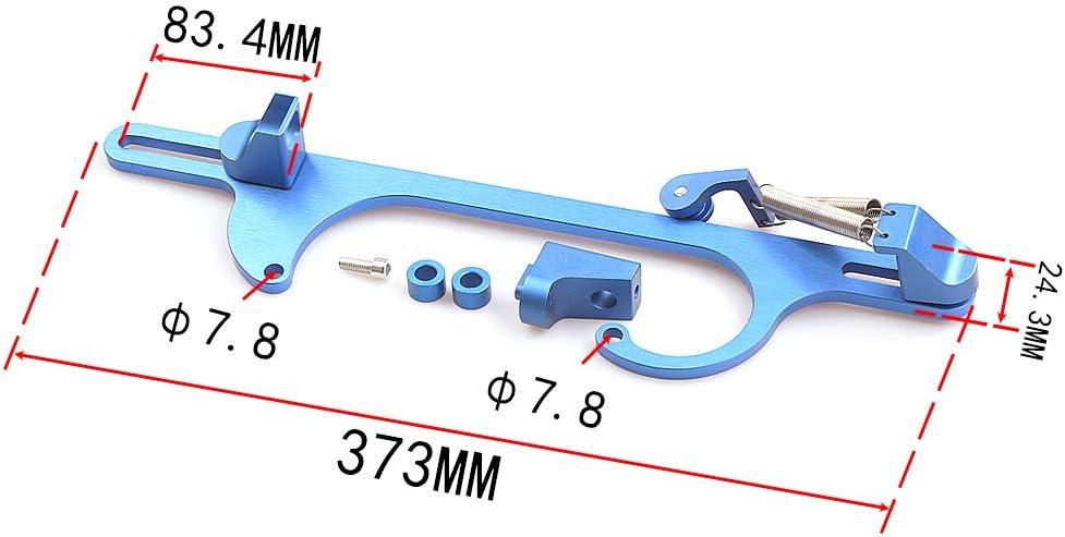 Top10 Racing Throttle Cable Bracket 4150 4160 Series throttle brackets Billet Aluminum Anodized Throttle Cable Bracket Adjustable Silver
