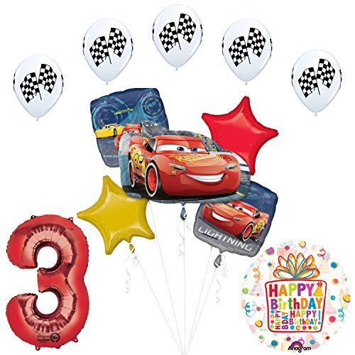 cars birthday party decorations - 2