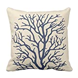 Emvency Throw Pillow Cover Branch Coral Tree in - Best Reviews Guide