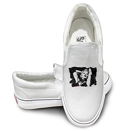 Xbox Costume Ideas (PTCY Madonna Rebel Hearts Sportstyle Unisex Flat Canvas Shoes Sneaker 43 White)