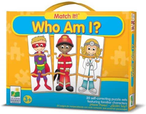 The Learning Journey Match It! Who Am I? by The Learning Journey