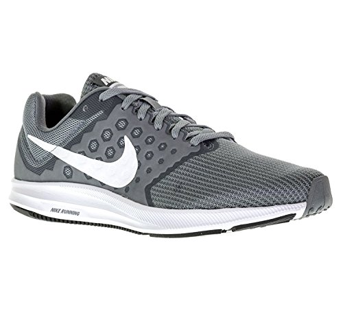 size 40 4336a 594ff Galleon - Nike Women s Downshifter 7 Running Shoe Stealth White Cool Grey  Black 6