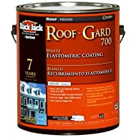 GARDNER-GIBSON 1/20/5527 Black Jack 3.6 quart Roof Gard 700 7 Year White Elastomeric Roof Coating by Gardner-Gibson
