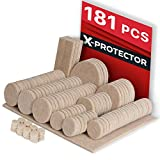 lovely white wood flooring  Premium ULTRA LARGE Pack Furniture Pads 181 piece! Felt Pads Furniture Feet ALL SIZES – Your Best Wood Floor Protectors. Protect Your Hardwood & Laminate Flooring with 100% Satisfaction!