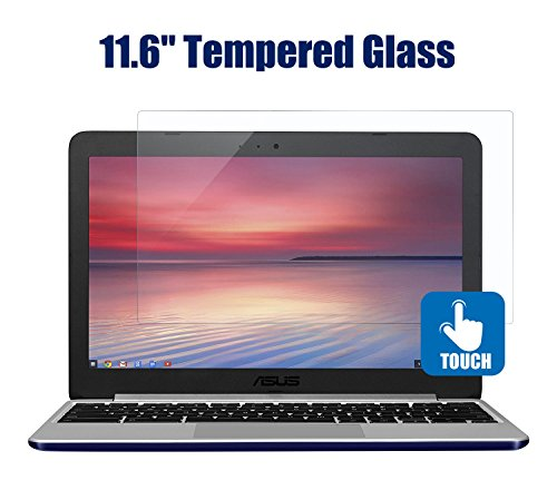11.6 Inch Notebook Screen Protector Tempered Glass 9H Hardness Scratch Resistant for Acer Chromebook/ASUS/DELL/HP/Samsung/Lenovo/Toshiba 11.6