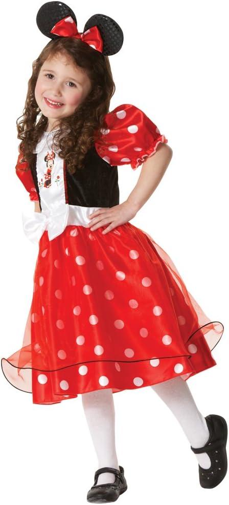 Rubies IMC Disfraz Minnie mouse rojo M: Amazon.es: Juguetes y juegos