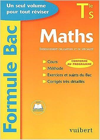 Formule Bac : Maths, terminale S : Enseignement obligatoire et de spécialité: 9782711737383: Amazon.com: Books