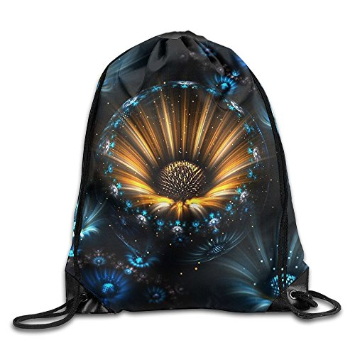 Flower Light Funny Logo Drawstring Bags Portable Backpack Travel Sport Gym Bag Yoga Runner Daypack Shoe Bags]()