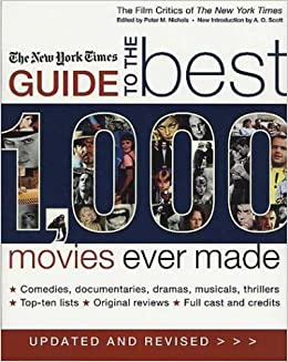 the new york times guide to the best 1 000 movies ever