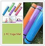 Yoga Mats, UMFun 4MM Thick Durable Yoga Mat Non-slip Exercise Fitness Pad Mat
