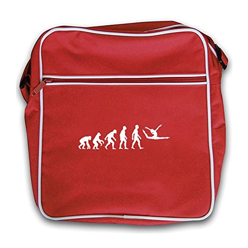 Gymnastics Of Bag Evolution Red Retro Red Floor Flight Man ZPwv7qt