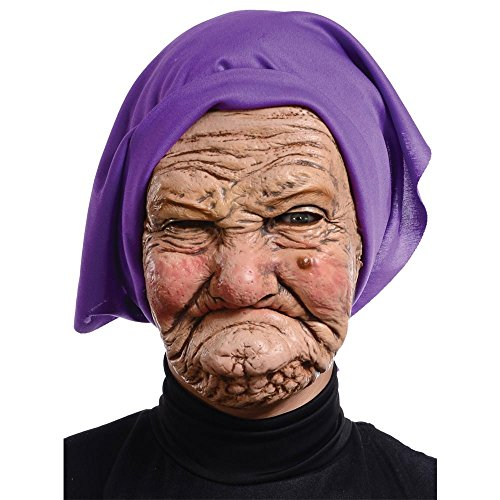 Adult Granny Mask (Old Granny Costume)