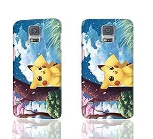 Pokemon XV Anniversary Pikachu Charzard 3D Rough Case Skin, fashion design image custom , durable hard 3D case cover for Samsung Galaxy S5 i9600 Regular, Case New Design By Codystore wangjiang maoyi