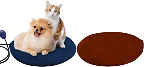 Pet Heating PadMicrowave Wireless Heatpad Portable Electric Warming Pad Microwavable Animal Warmer Pad With Replacement Cover Indoor Outdoor For Cats And Dogs