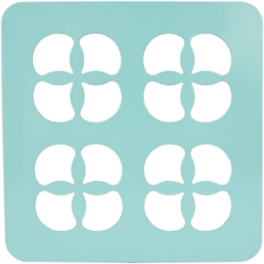 Home Basics Trinity Collection Pantryware Organization Set, Turquoise Trivet