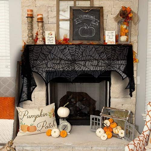 Perfect creepy mantle scarf!
