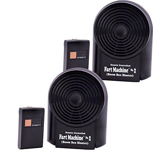 Forum Novelties (Set/2) Remote Control Fart Machine Number 2 - Prank Farting Sounds Gag Gift