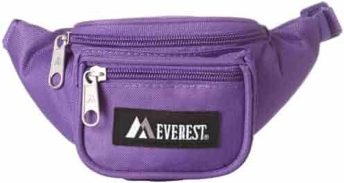 Everest Signature Waist Pack - Junior, Dark Purple, One Size