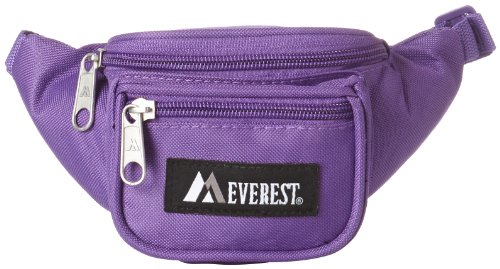 Everest Signature Waist Pack - Junior, Dark Purple, One Size