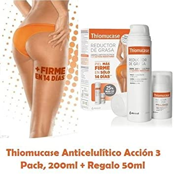 Amazon.com: PACK THIOMUCASE ANTI-CELLULITE LOOSE FAT 250ml X ...