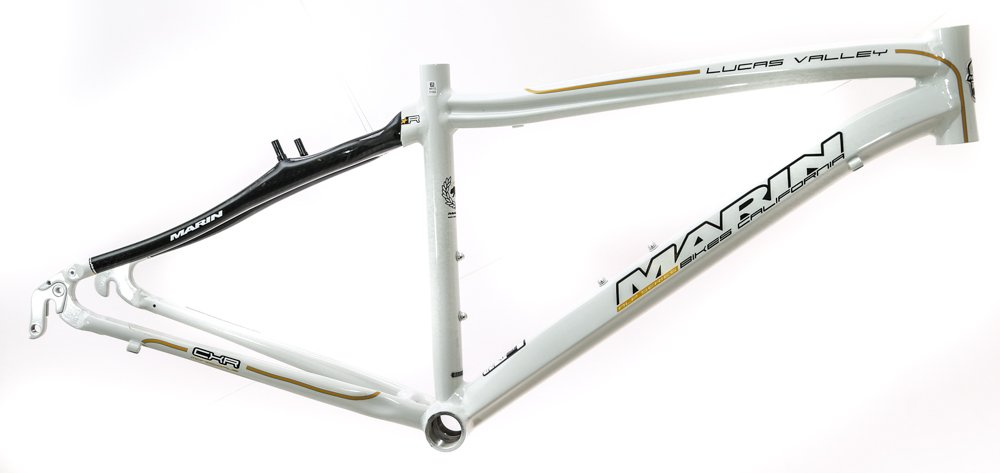 Marin 15'' Lucas Valley Hybrid Road 700c Alloy/Carbon Bike Frame White NEW