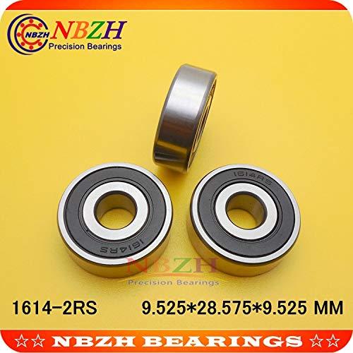 Ochoos 1614-2RS Bearings 3//8 X 1-1//8 X 3//8 inch Radial Ball Bearings 1614 RS 1614Z 1614ZZ 9.52528.5759.525 MM Length: 1614-2RS, Diameter: ABEC-5