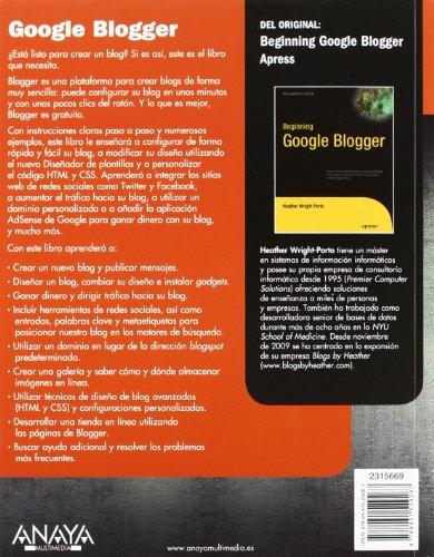 Google-Blogger-Beginning-Google-Blogger-Spanish-Edition