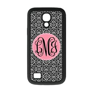 European style Palace Black and White Retro Pattern with Light Pink Handwriting Monogram Design Custom Luxury Cover Case For Iphone 5/5S Case Cover ( Black ) ALL MY DREAMS!!