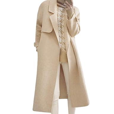 Linlink Abrigo de Mujer Liquidación Temporada De OtoñO E Invierno Popular La Moda De Manga Larga De Gran Tamaño Suelto Chaqueta De Lana Cardigan Outwear: ...