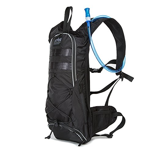 Manhattan Portage Central Park Reservoir Backpack, Black