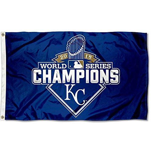 WinCraft Kansas City Royals 2015 World Series Flag and Banner