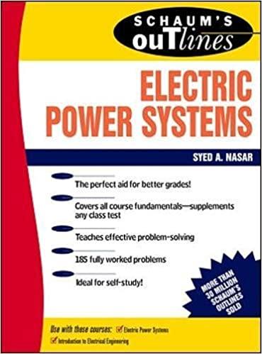 ,,ONLINE,, Schaum's Outline Of Electrical Power Systems. Sobre resina prodotti consulte October