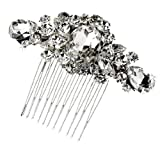 Classical Crystal Hair Comb - 3002SNCR