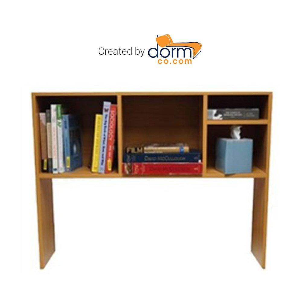 Amazoncom The College Cube Desk Bookshelf Beech Color Home