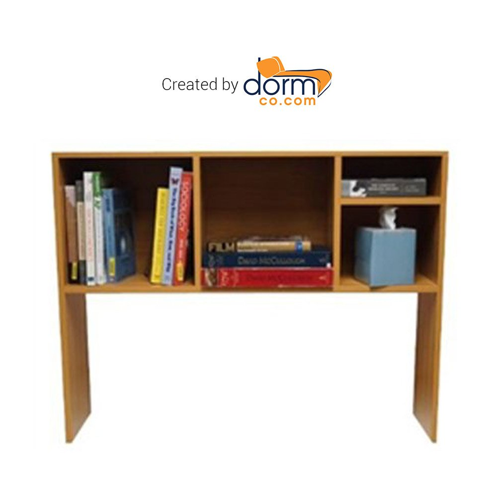 DormCo The College Cube - Desk Bookshelf - Beech Color