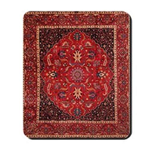 - sunmoohat - Persian Mashad Rug - Non-Slip Rubber Mousepad, Gaming Mouse Pad
