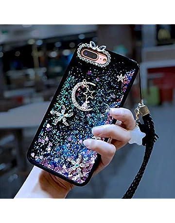 Amocase Liquid Hard Case with 2 in 1 Stylus for Samsung Galaxy S8 Plus,Luxury
