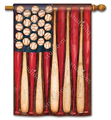 Patriotic American Baseball Season Play Ball 28