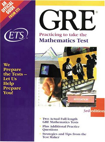Gre Practicing to Take the Mathematics Test Educational Testing Service