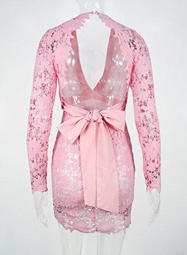 Futurino - Vestido - para mujer Rosa