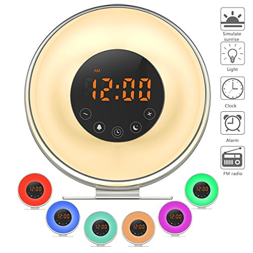 small plug in alarm clock - 4