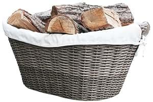 Habau cesta para le a polietileno con estructura for Cestas para lena