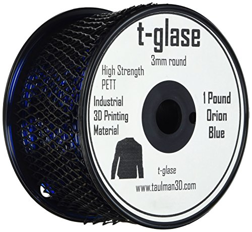 Taulman 3D-Print Filament t-glase PETT Orion Blue 3mm filament