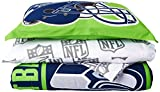 NFL Seattle Seahawks Soft & Cozy 7-Piece Full Size Bed in a Bag Set