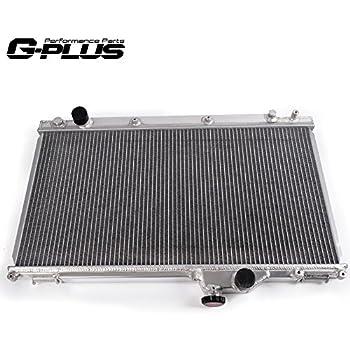 For 01-05 Lexus IS300 2JZ-GE VVT-i M//T Full Aluminum Dual Core Cooling Radiator