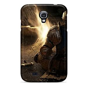 Samsung Galaxy S4 QNE2005npdf Custom HD Dark Souls Image Shock Absorbent Cell-phone Hard Cover -MansourMurray