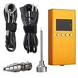 Colori Mini Aromatherapy Diffuser Kit-XLR Plug Cord and Barrel Coil- Intelligent Temperature PID Controller (Gold)