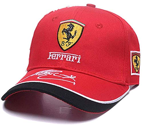 Used, Formula 1 Ferrari Racing Team Cap (Red) for sale  Delivered anywhere in USA